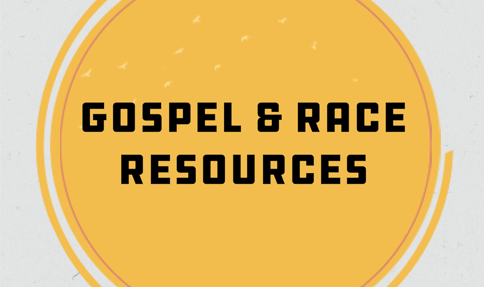 Gospel and Race Resources